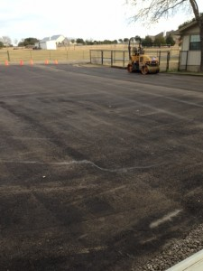 Asphalt - parking lot